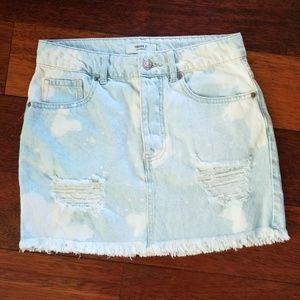 Forever 21   Distressed Skirt
